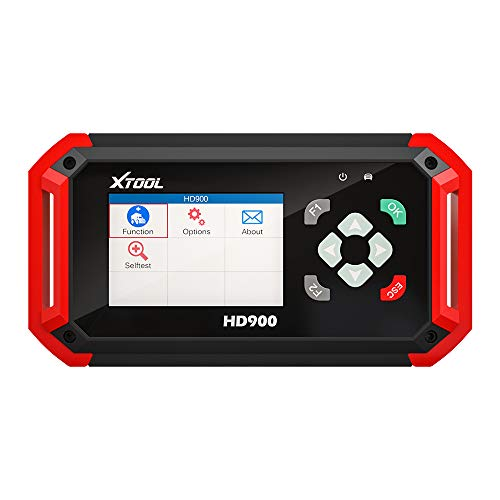 XTOOL HD900 CAN Bus Engine Code Reader Heavy Duty Truck Diesel Scanner J1587 J1708 and J1939 Protocols OBDII Diagnostic Tool