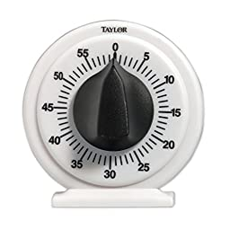 Taylor Precision Products Mechanical Long Ring Timer