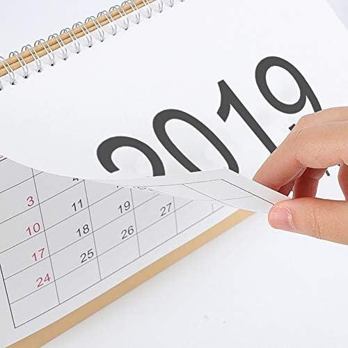Deanyi 2019 einfache Art Kalender Schreibtisch Stehen Kalender für Office Home School täglichen Gebrauch Bürobedarf