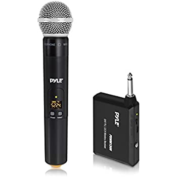 wireless microphone system uhf handheld mic wireless adapter home studio. Black Bedroom Furniture Sets. Home Design Ideas