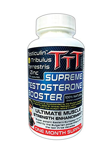 TTT- The Best Alternative Of The Anabolic Steroids. Supreme Testosterone Booster. Contains Unique Ingredient No one Else Produces it. Delivers A Noticeable Increase In Stamina, Energy and Vitality