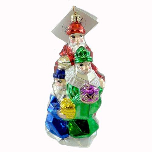 Wisemen Glass Ornaments - Christopher Radko ROYAL JEWELS Glass Ornament Wisemen Nativity