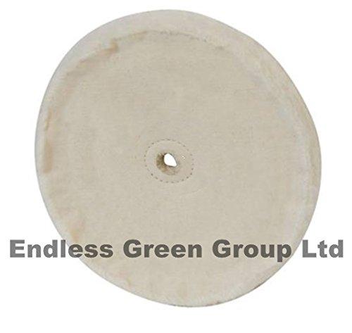 Bolpol - Loose Leaf Cotton Buffing Wheel 150mm / 6 inch with 13mm hole HL150/1
