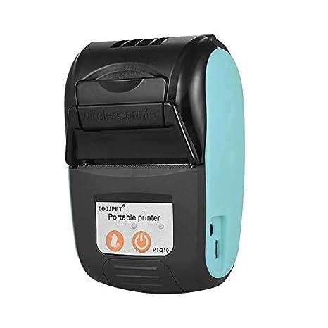 Printers Máquina de Recibos Recargable de 58 mm supermercado ...