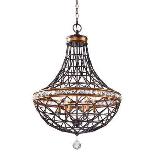 Amazon.com: Uttermost Cestino 21292 – Lámpara de techo ...