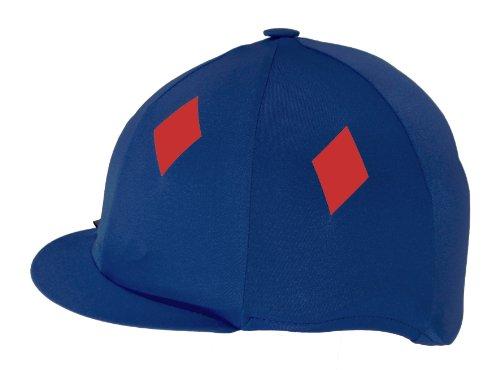 Para montar a caballo revestimiento de licra Capz, unisex, color  - Camouflage Green, tamaño talla única azul marino / rojo