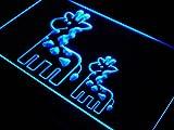 ADV PRO j354-b GIRAFFE FAMILY Animals Display Neon Light Sign