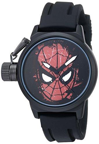 Marvel Men's Spider-Man W001751 Analog-Quartz Black Watch