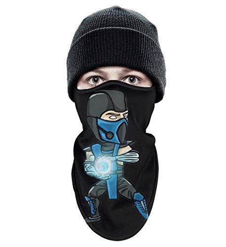 Unisex Winter Windproof Subzero-Mortal-Kombat- Half Face Mask Motorcycle Cute face mask ()