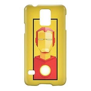 Loud Universe Samsung Galaxy S5 Iron Man Tony Stark Print 3D Wrap Around Case - Multi Color