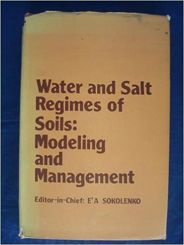 Livres gratuits en ligne téléchargements gratuits Water and Salt Regimes of Soils: modeling and Management ePub