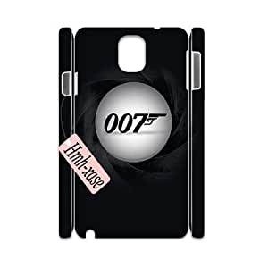 Custom 3D Case Cover for samsung galaxy note3 n9000 w/ James Bond 007 image at Hmh-xase (style 5)
