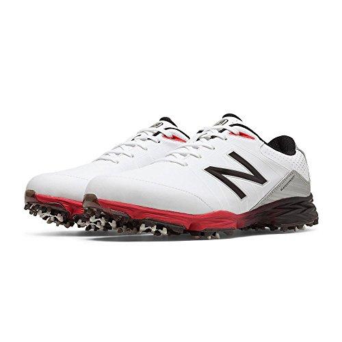 2004 Golf Shoes White/Red 4E 10.5 ()