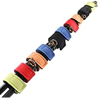 SupsShop 10pcs Fishing Rod Belts Ties Spinning Rods...