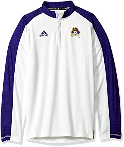 Adidas Sideline Climalite L/S 1/4 Zip, X-Large, White