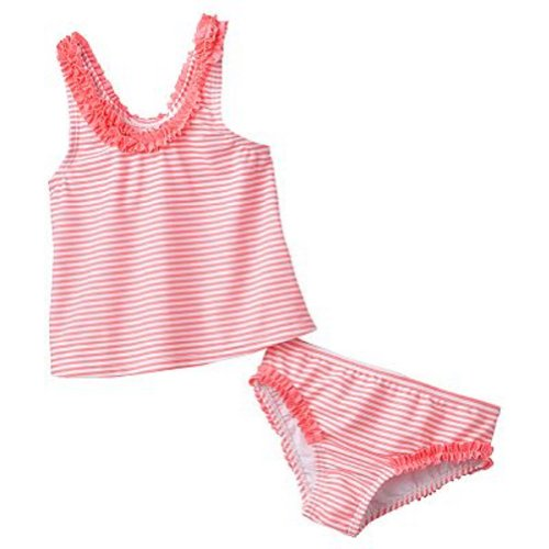 Carters Baby Girl 2pc Swim Suit - 3-6 Months