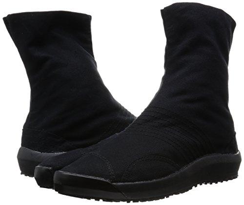 Negro De Antideslizantes Jikatabi Ninja Suela Clips Japon 6 Zapatos Con Marugo Directo TnxPqXzF