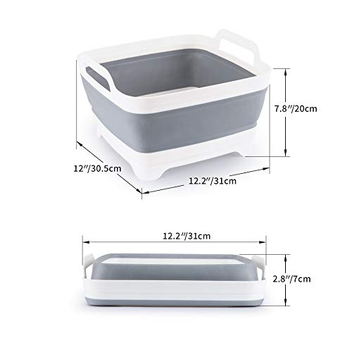 Gano Zen Plastic Wash Vegetable Fruit - Basket Foldable Creative Portable Camping Fishing - Kitchen Bath Cleaning Tools - Outdoor Accessories by Gano Zen (Image #2)