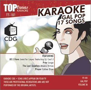 Price comparison product image Top Tunes Karaoke CDG Gal Pop Vol. 36 TT-181 by Various Artists