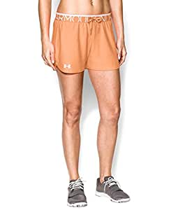 Under Armour Women's UA Play Up Shorts Extra Small Afterglow