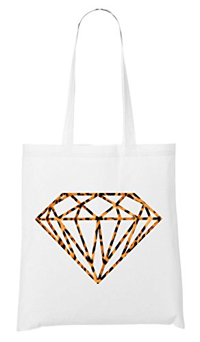 Diamond Leo Bag White