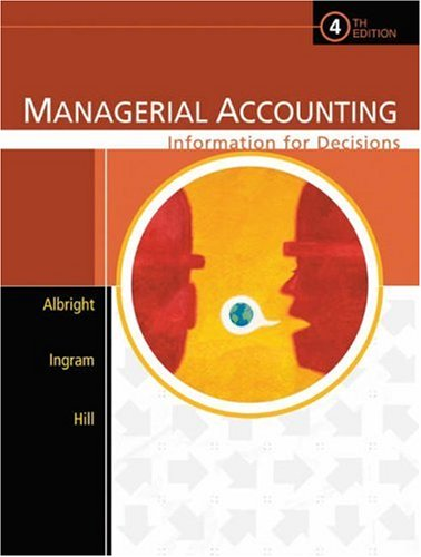 PKG:MANAGERIAL ACCOUNTING:INFORMATION FOR DECISIONS + CD