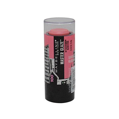 (Maybelline New York Face Studio Master Glaze Glisten Blush Stick, Pursuit of Pink, 100)