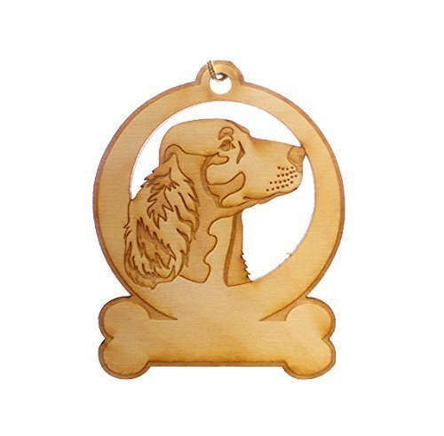 Personalized Irish Setter Ornament - Irish Setter Gifts - Irish Setter Memorial