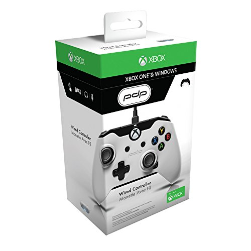 PDP Wired Controller for Xbox One & Windows – White