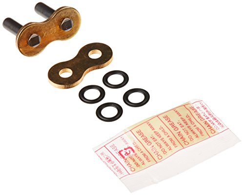 DID 530VXGB-RIVET CL Gold Rivet-Style X-Ring Chain Connecting Link ()