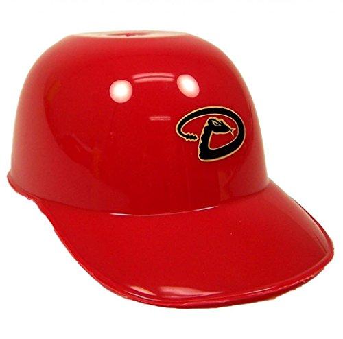 MLB Mini Batting Helmet Ice Cream Sundae/ Snack Bowls-24 Pack (Arizona Diamondbacks)