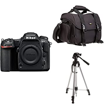 Nikon D500 Body Single-Lens Reflex Digital Camera + Amazon Basics bag and  tripod