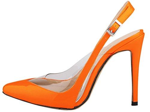 CFP ,  Damen Sling Backs Orange