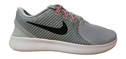 Nike Free RN CMTR, Scarpe da Corsa Uomo Grigio (Wolf Grey / Blk-ttl Crmsn-cl Gry)