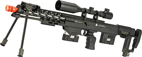 Evike 6mmProShop Gas Powered Full Metal DSR-1 Advanced Bullpup Sniper Rifle (Color: Black)