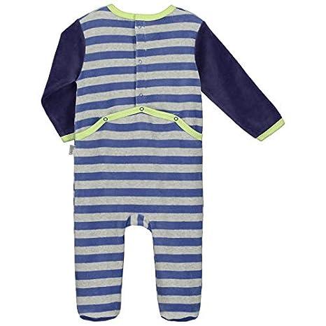 077bbe7a40f75 Pyjama bébé velours Little boy - Taille - 12 mois (80 cm)  Amazon.fr  Bébés    Puériculture