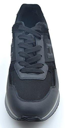 HOGAN MAN SNEAKER SHOES BLACK CODE HXM2460Y780DSCU215 9 (EUR 43) NERO - BLACK discount cheap online popular sale online 4mG2Cacm