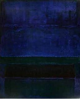 "MARK ROTHKO Blue /& Gray No Text 30/"" x 27.5/"" Poster 2005 Abstract"