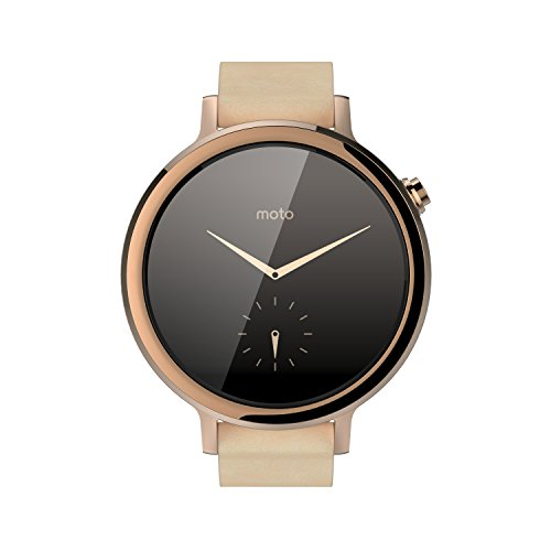Motorola Moto 360 (2nd Gen.) - Womens 42mm, Rose Gold with Blush ()