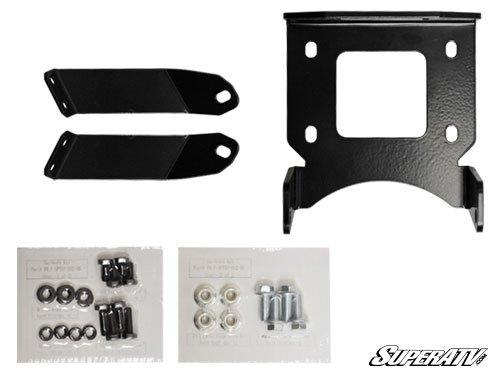 Polaris Sportsman XP 850/Scrambler 1000 Winch Mounting Plate by SuperATV (Image #2)