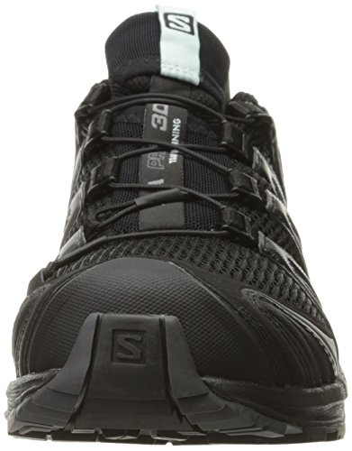 Salomon Mujer Zapatillas de Running y Trail Running XA Pro 3D Negro (Black/Magnet/Fair Aqua Black/Magnet/Fair Aqua)