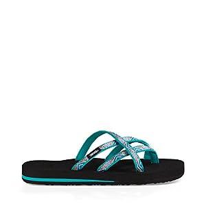 Teva Women's W Olowahu Sandal (6 B(M) US / 37 EUR, Island Tropic Teal)