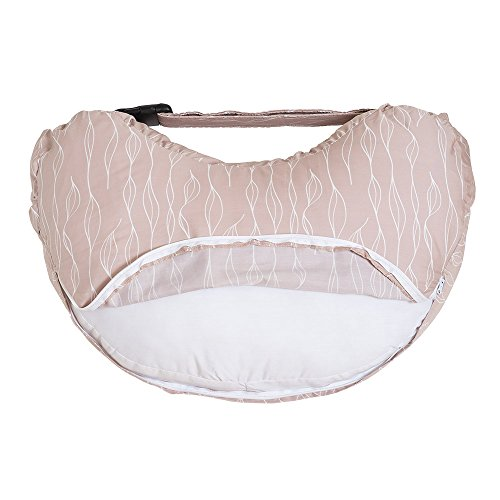 Bebe au Lait Organic Cotton Nursing Pillow Slipcover, Blush