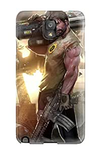 Galaxy Note 3 FCcVnAp2294xlxKD Serious Sam 4 Silicone Gel Case Cover. Fits Galaxy Note 3