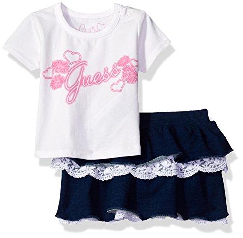 guess-baby-girls-set-short-sleeve-t-shirt-and-skirt-true-white-24m