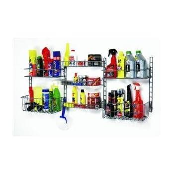 Amazon.com: Rubbermaid 7092 Long-Handle Tool Storage Unit