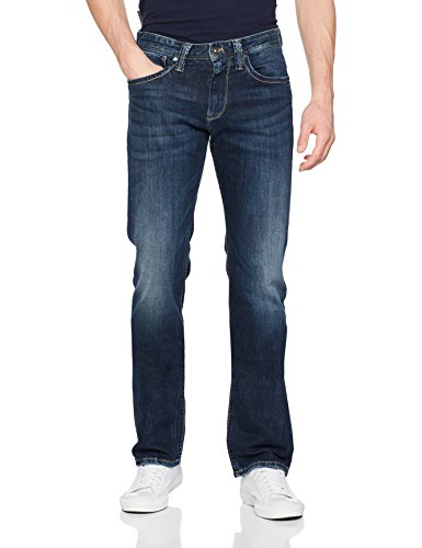 Pepe Jeans Kingston Zip Pm200143z45600032, Jeans Uomo, Blu (Denim), W32 (Taglia Produttore: 32)