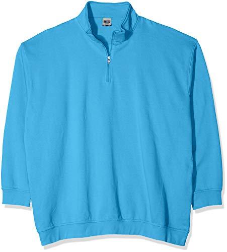 N9294 Sudadera Hombre Azul Half James Workwear Turquesa Nicholson amp; Zip wqxn0pFaY
