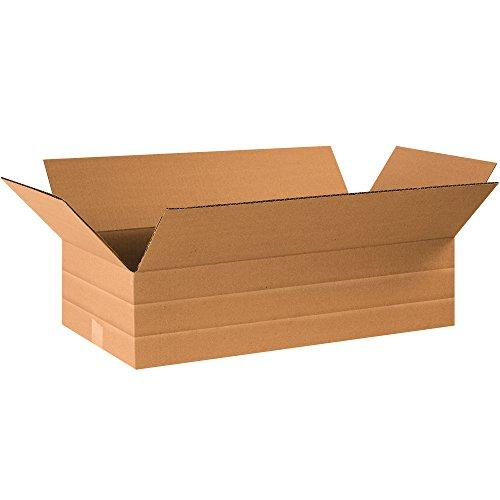 Tape Logic TLMD24126 Multi-Depth Corrugated Boxes, 24