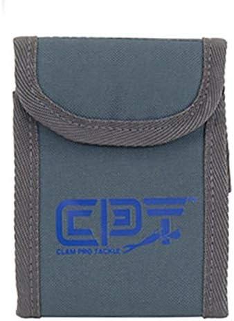 Clam 12581 Soft Plastics Wallet One Size Blue